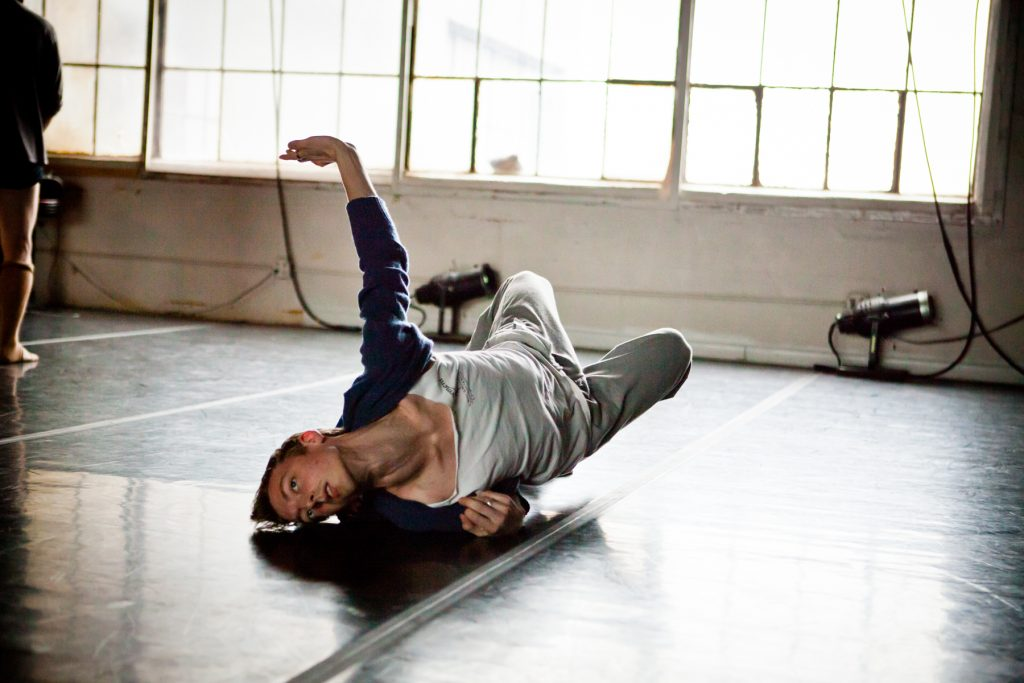 Dance rehearsal photos of Kinetic Architecture by NYC photojournalist, Kelly Williams