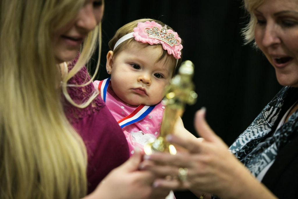 The cute baby contest at the Pasco County Fair, by NYC photojournalist, Kelly Williams