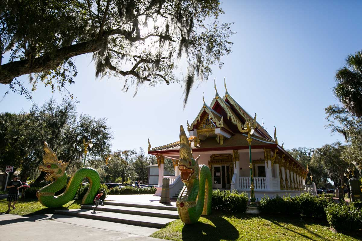 The Wat Mongkolratanaram, photographed by NYC photojournalist, Kelly Williams