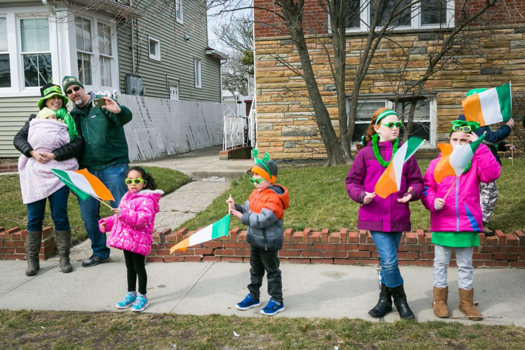 Queens County St. Patrick's Day Parade, by NYC photojournalist, Kelly Williams