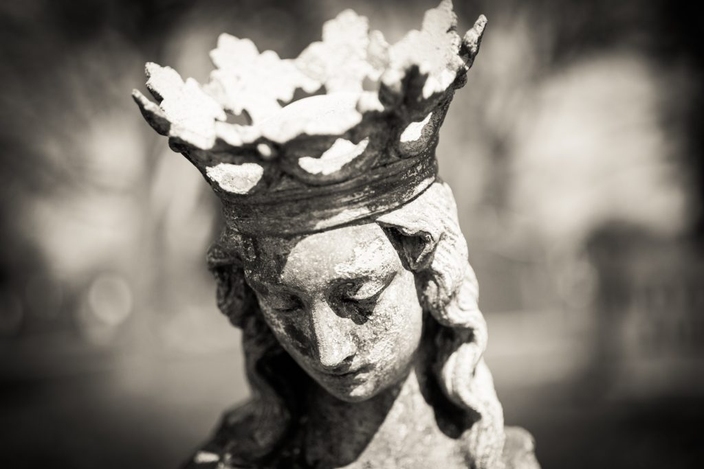 Most Holy Trinity Cemetery in Bushwick by NYC photographer, Kelly Williams