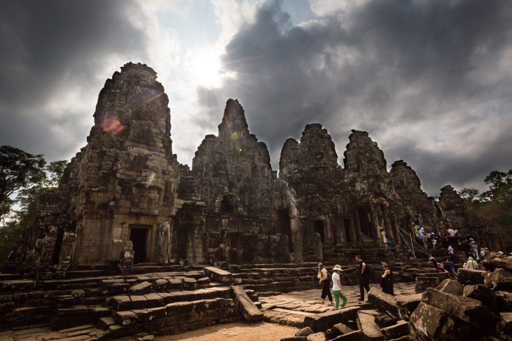 Bayon Temple for an Angkor Wat temple guide