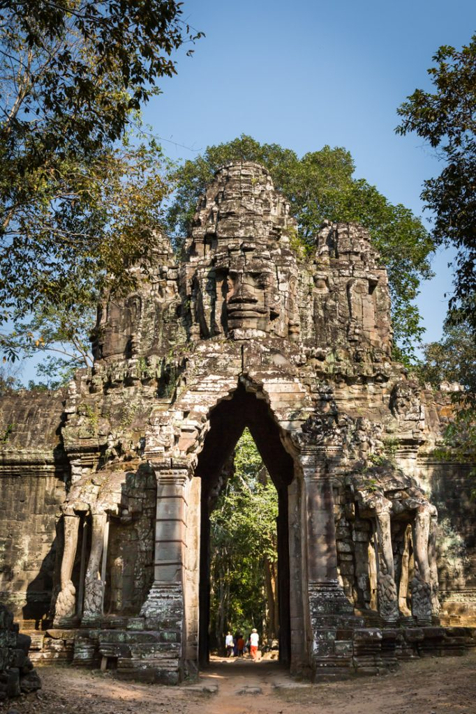 Victory Gate of Angkor Thom for an Angkor Wat temple guide
