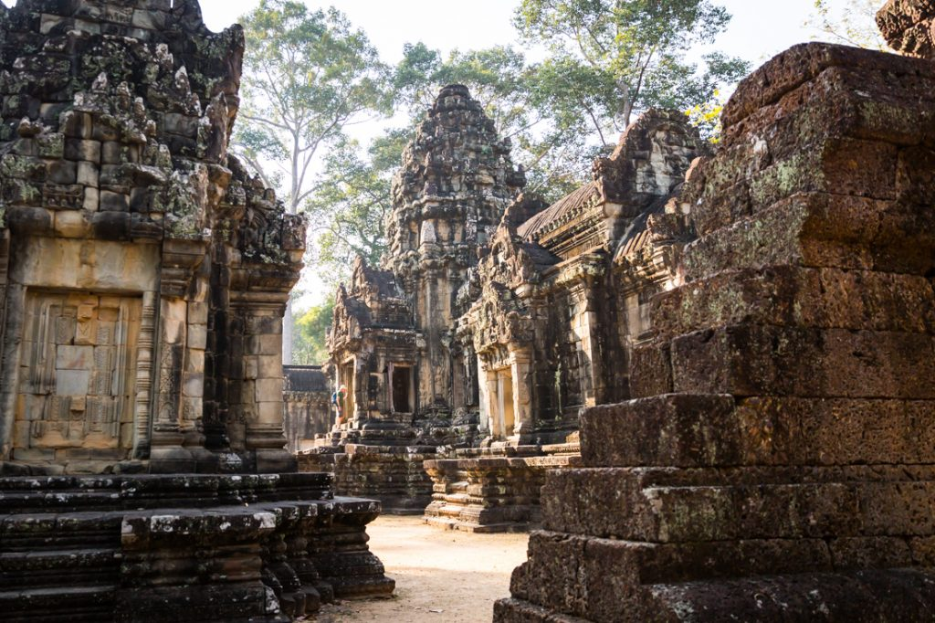 Thommanon for an Angkor Wat temple guide