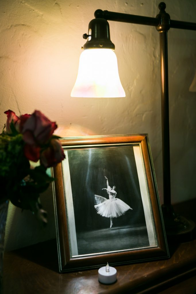 Framed ballerina photo for an article on Death Valley travel tips