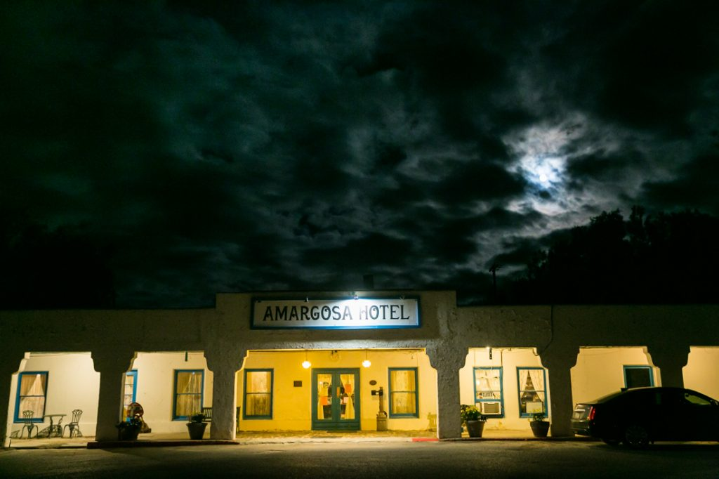 Amargosa Opera House exterior for an article on Death Valley travel tips