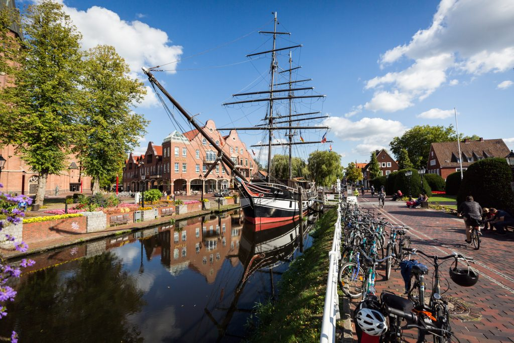 Historic ship in Papenburg, Germany