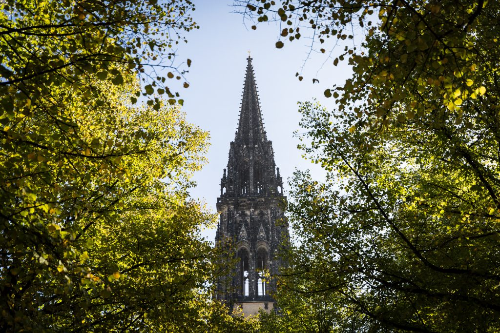 St. Nicholas Church in Hamburg, Germany