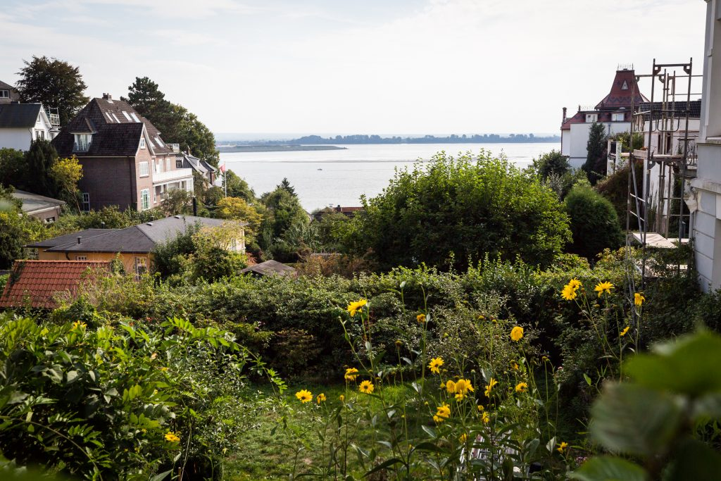 Neighborhood in Blankenese, Germany