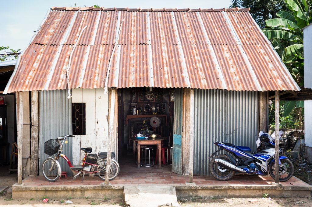 House on Tan Phong for an article on the Cai Be Floating Markets