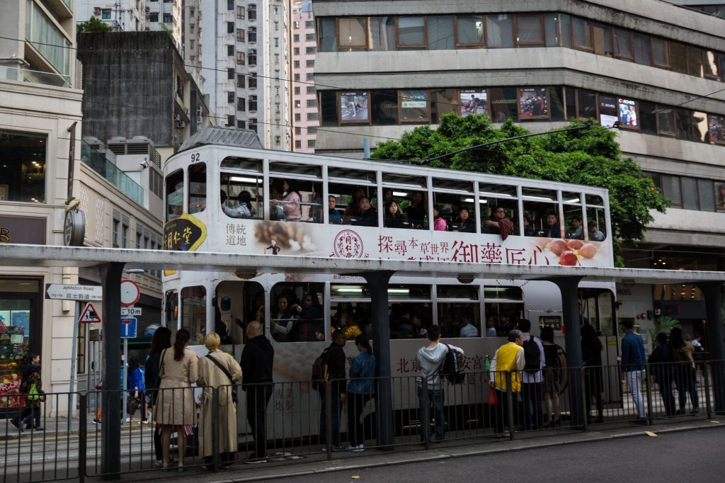 Ding ding for a Hong Kong travel guide article