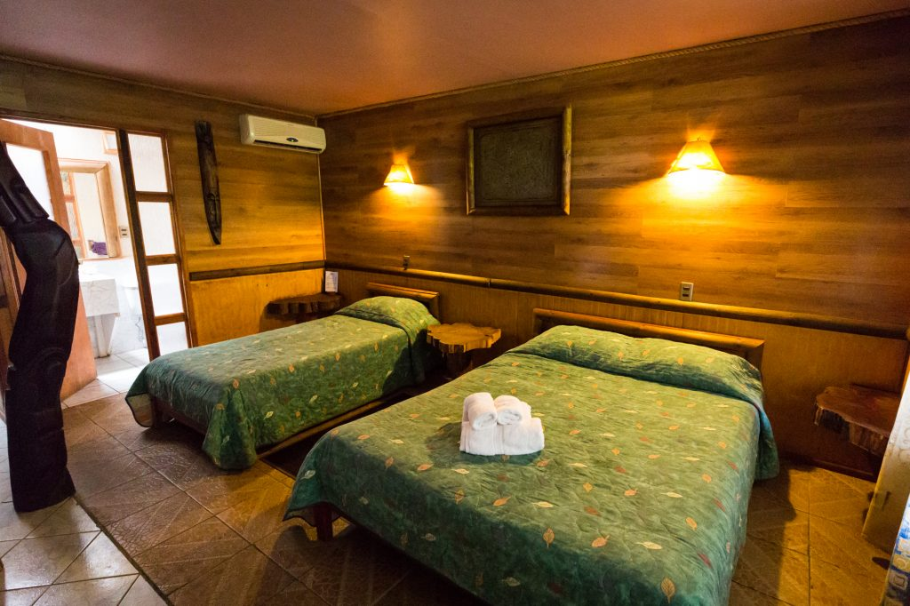 Hotel Manavai room for an Easter Island travel guide
