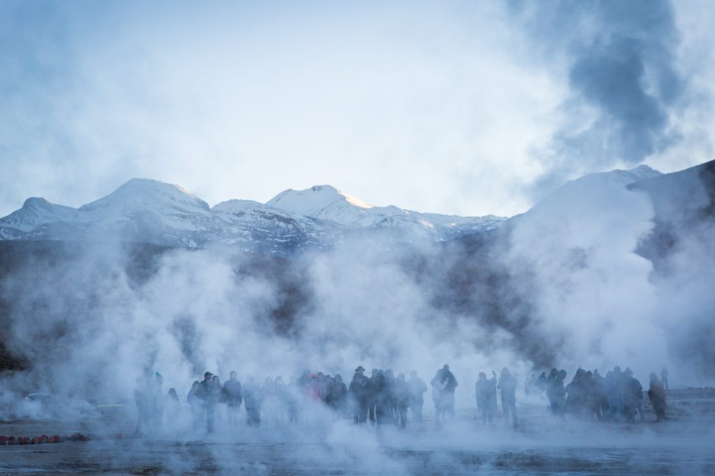 South America trip photo of El Tatio Geysers