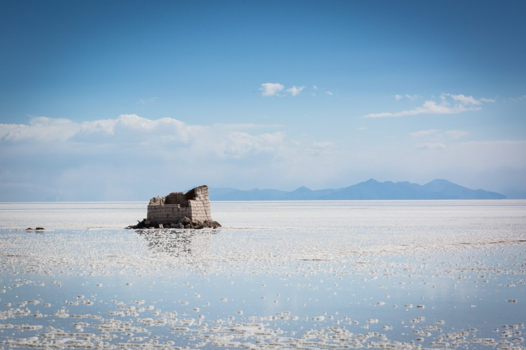 South America trip photo of the Uyuni salt flats