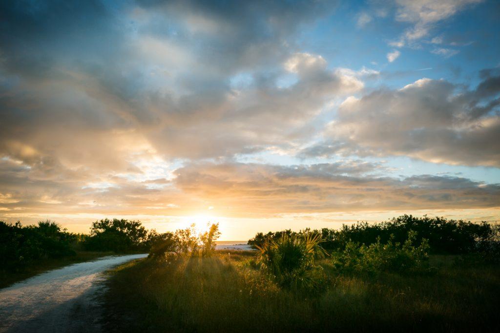 Sunset on Honeymoon Island